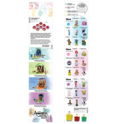 Micro-personaggi da collezione Littles, collezione Disney Animators, Serie 2