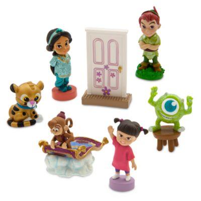 Figurines miniatures à collectionner, collection Disney Animators, série n°3