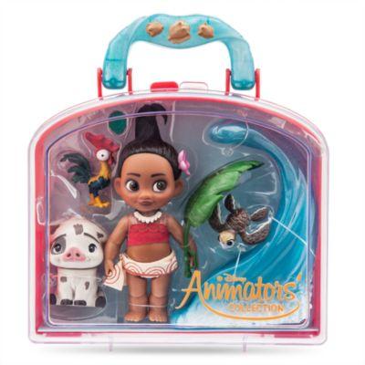 Ensemble de mini poupées Vaiana de la collection Disney Animators