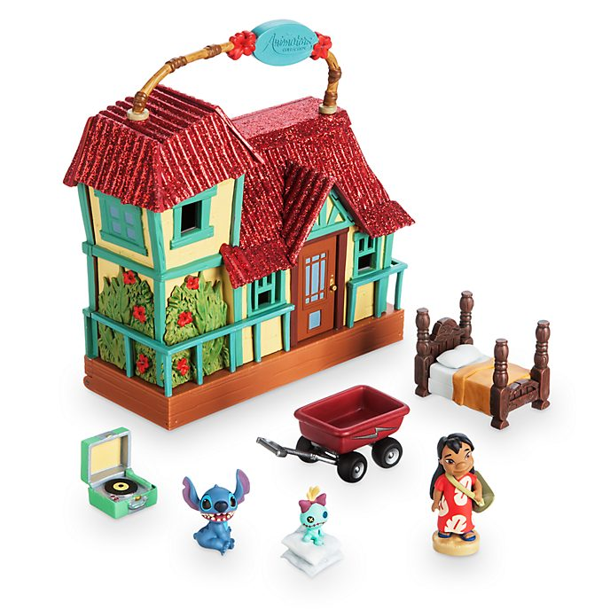 Disney Store Micro set da gioco con sorpresa Lilo e Stitch, collezione Disney Animators Littles