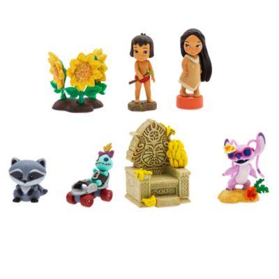 Figurines miniatures à collectionner, collection Disney Animators, série n°4