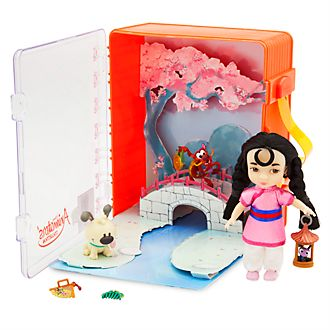 Disney Store Disney Animators' Collection Mulan Playset