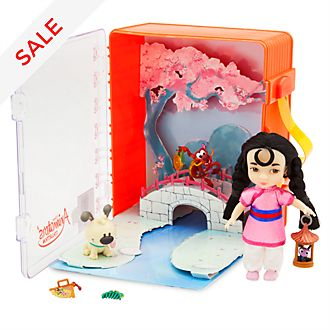 Disney Store Disney Animators' Collection Mulan Playset