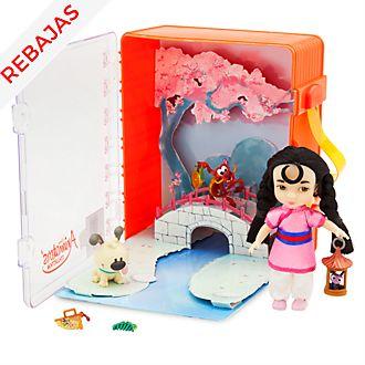 Juego Mulán colección Disney Animators, Disney Store