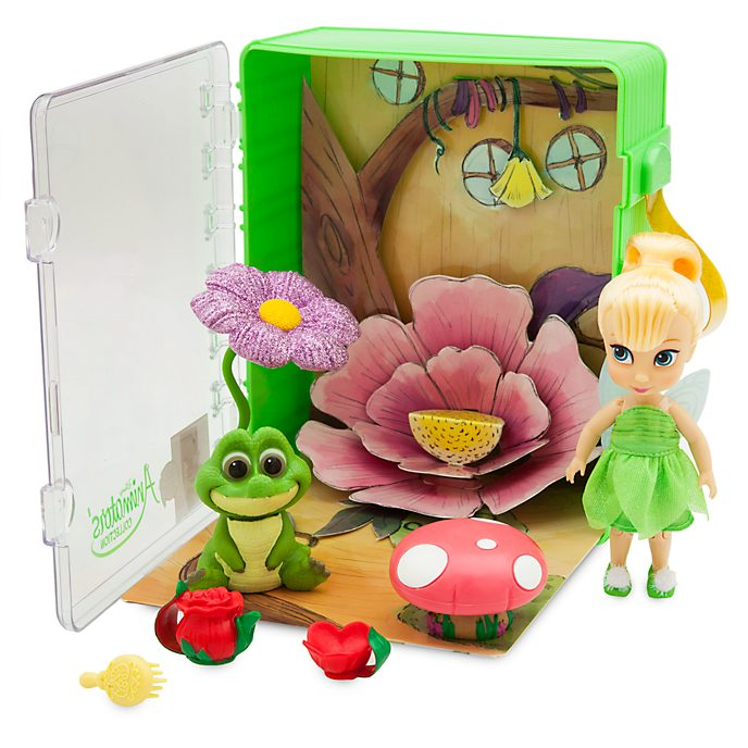 Disney Store Disney Animators' Collection Tinker Bell Playset