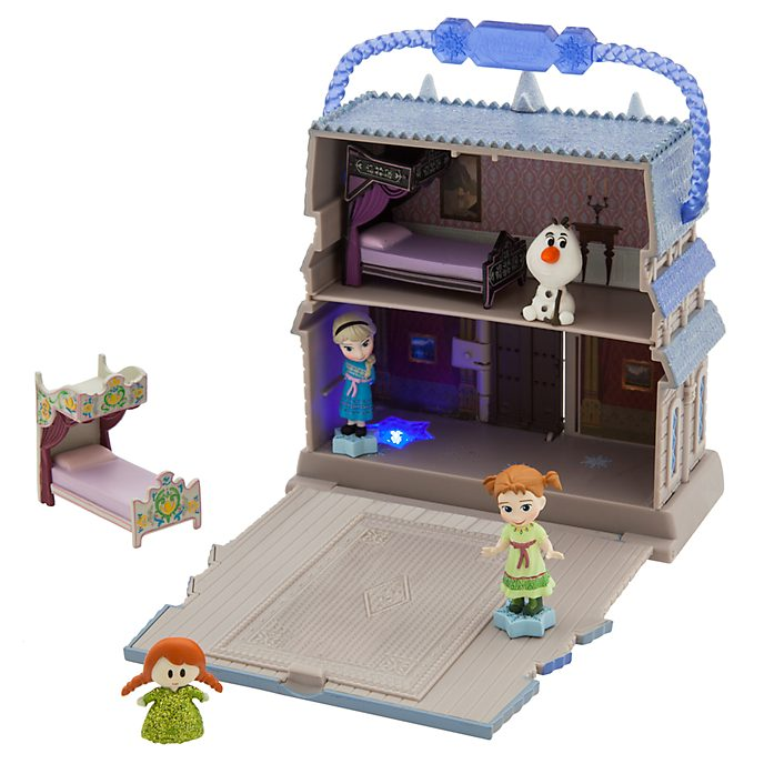 Set da gioco collezione Disney Animators Littles Frozen - Il Regno di Ghiaccio Disney Store