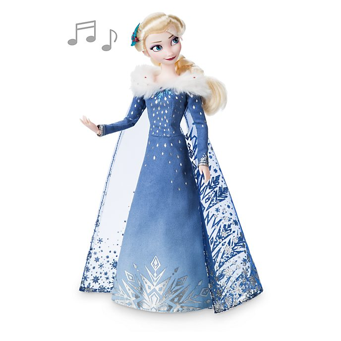 Disney Store Elsa Singing Doll