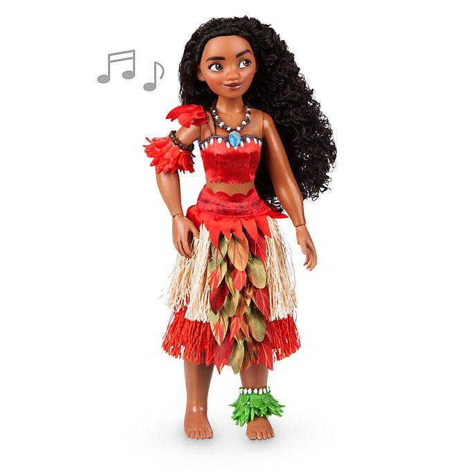 Muñeca que canta Vaiana, Disney Store