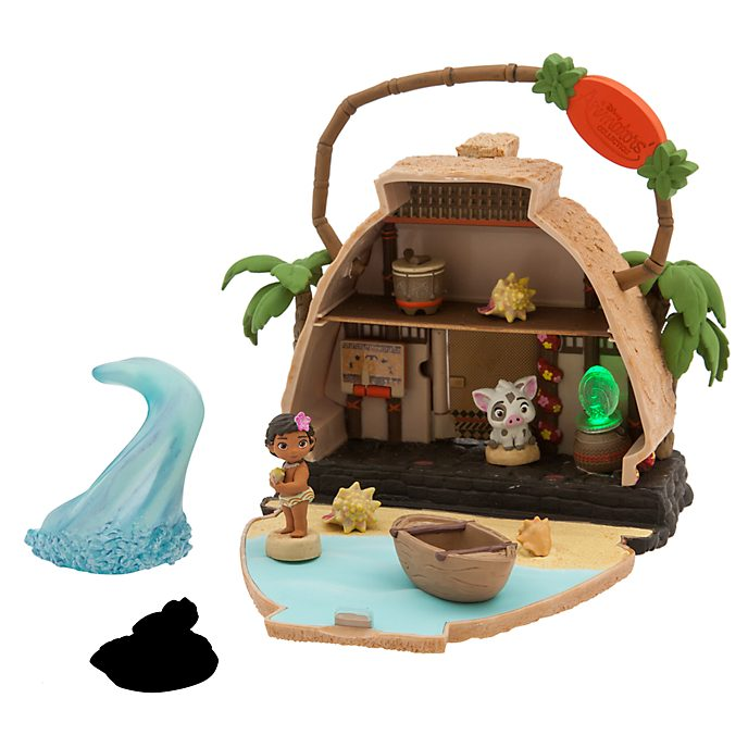 Disney Store - Disney Animators Collection Littles - Vaiana Spielset