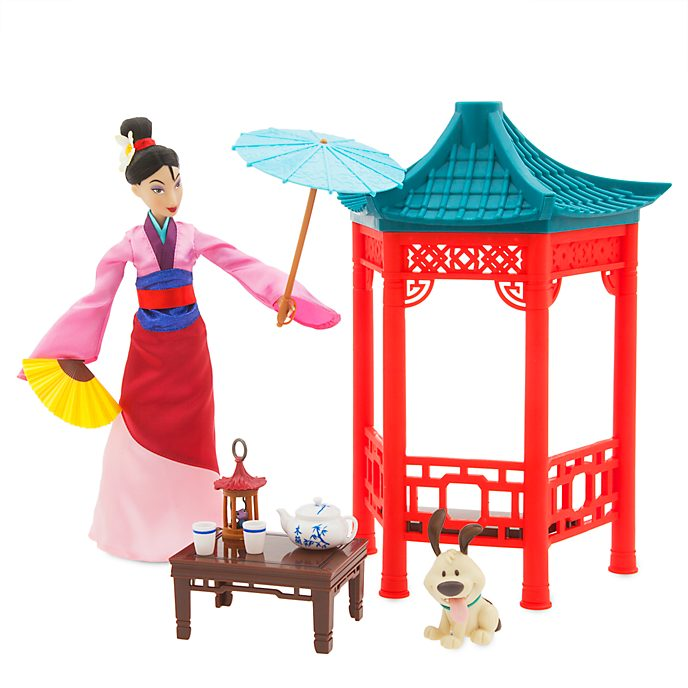 Disney Store Princess Mulan Tea Ceremony Playset