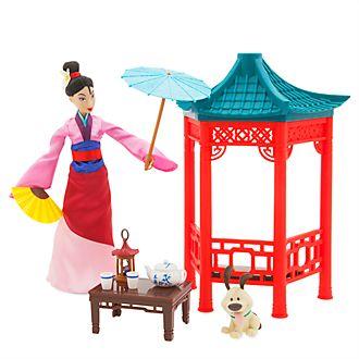 Disney Store Princess Mulan Tea Ceremony Playset