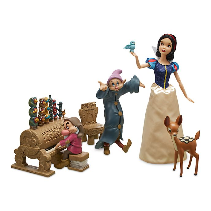 Disney Store Snow White Dance Party Playset