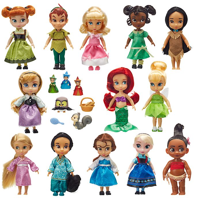 Disney Store Lot de 13poupées Disney Animators