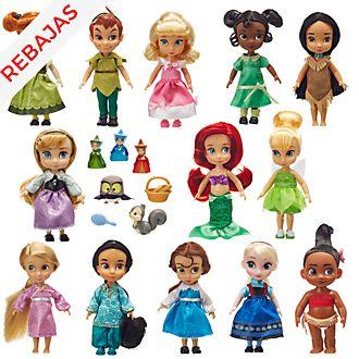 Muñecas colección Disney Animators, Disney Store (13u.)