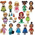 Disney Store - Puppen aus der Disney Animators Collection - 13-teiliges Set