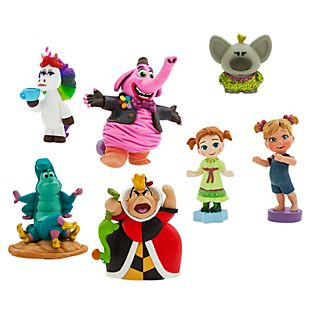 Disney Store Pack de figurines miniatures à collectionner, collection Disney Animators Littles
