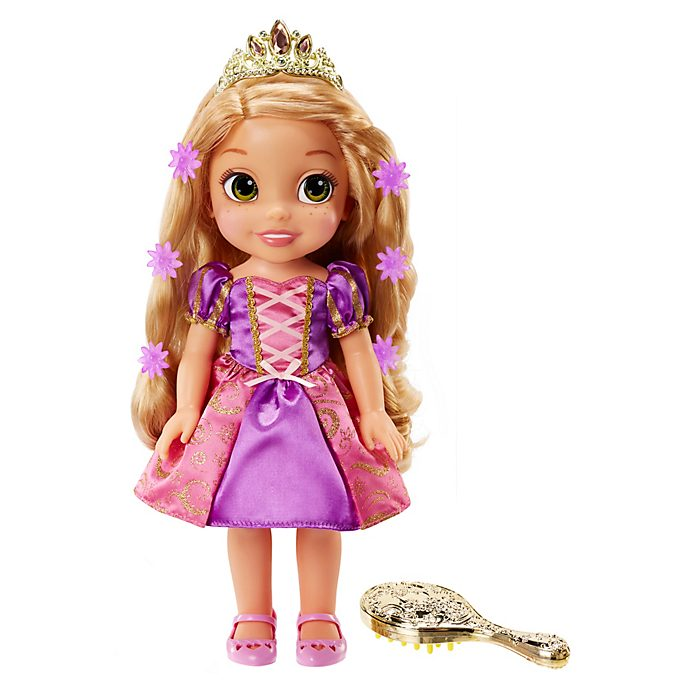 Rapunzel Hair Glow Doll