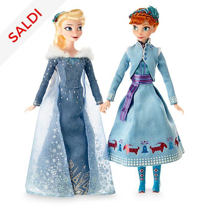 Set bambole Anna ed Elsa Frozen - Le Avventure di Olaf