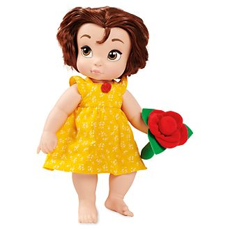 Disney Store Poupée de Belle bébé, collection Disney Animators