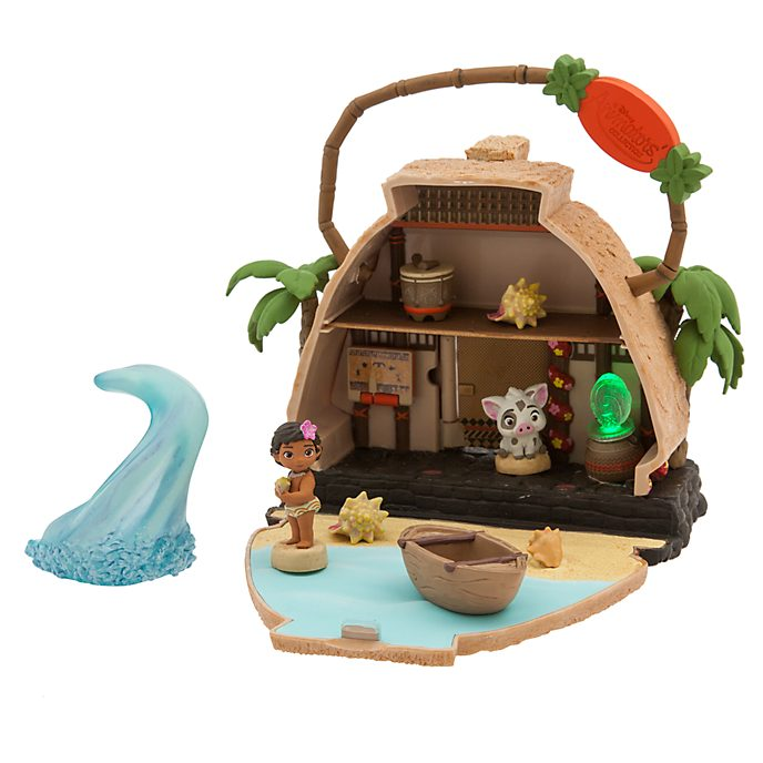Disney Store Moana Playset, Disney Animators' Collection Littles