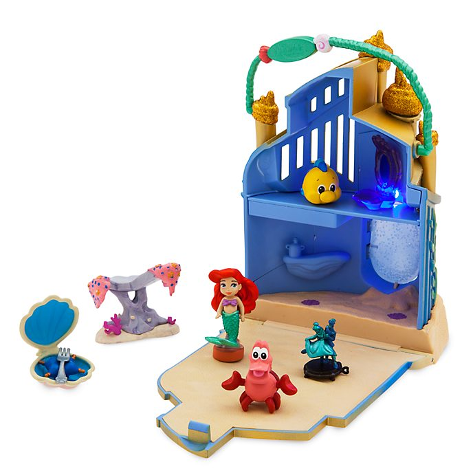 Disney Store Coffret de jeu Micro Ariel, Disney Animators Littles