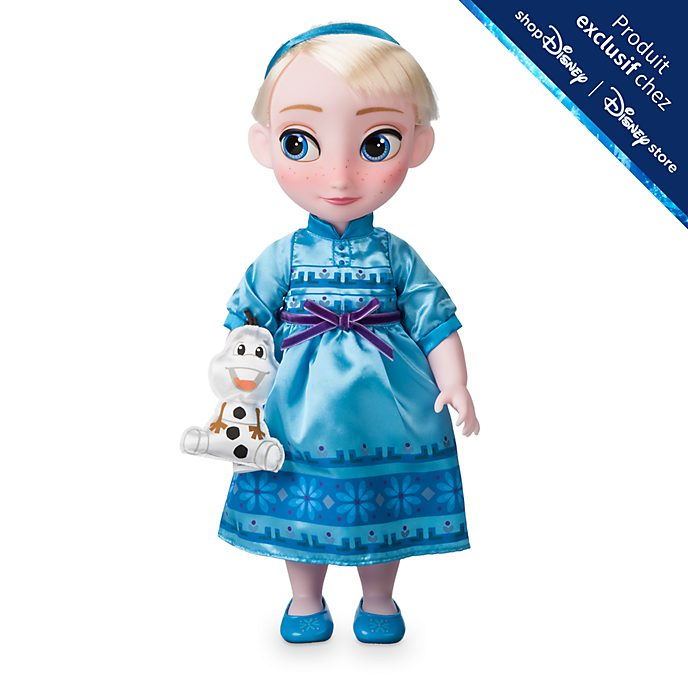 Disney Store Poupée Elsa Disney Animators, La Reine des Neiges