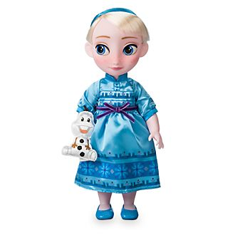 Disney Store - Disney Animators Collection - Die Eiskönigin - völlig unverfroren - Elsa Puppe
