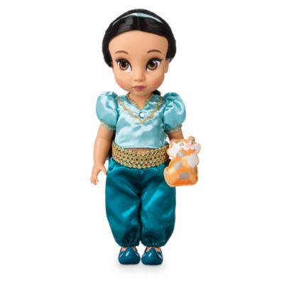 Almost Christmas Jasmine.Disney Store Princess Jasmine Animator Doll