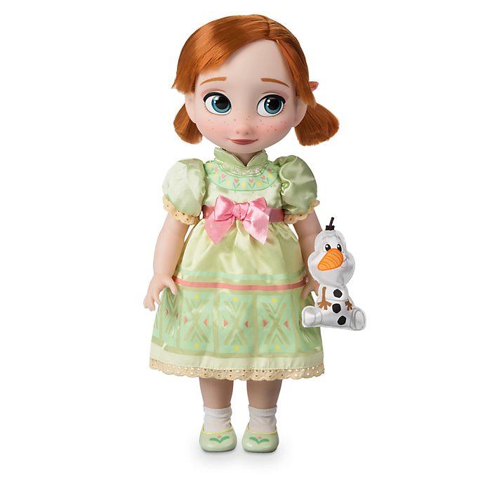 Disney Store Poupée Anna Disney Animators, La Reine des Neiges