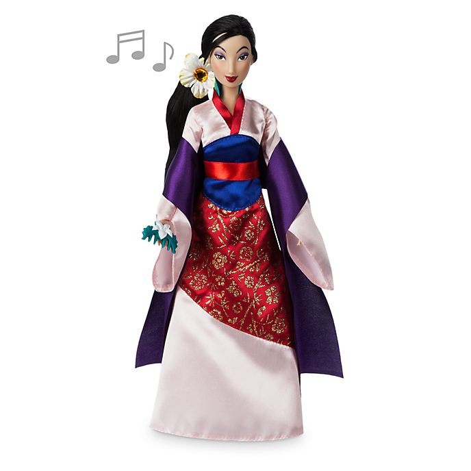 Disney Store Mulan Singing Doll