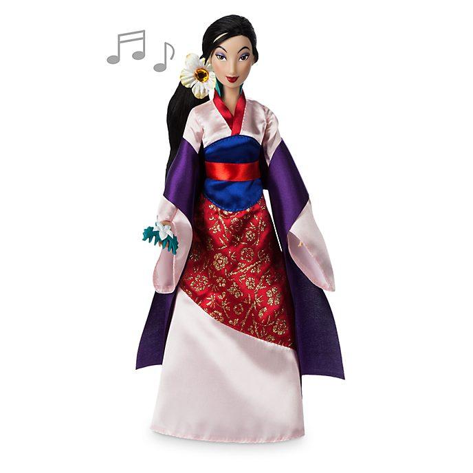 Bambola canora Mulan Disney Store