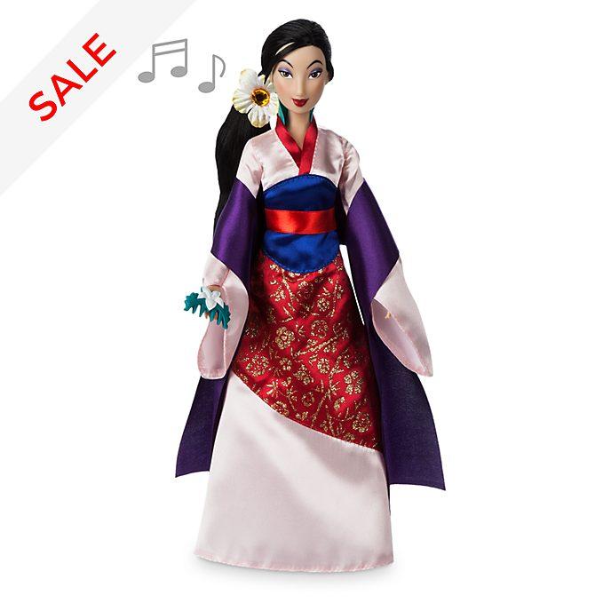 Disney Store Mulan Singing Doll