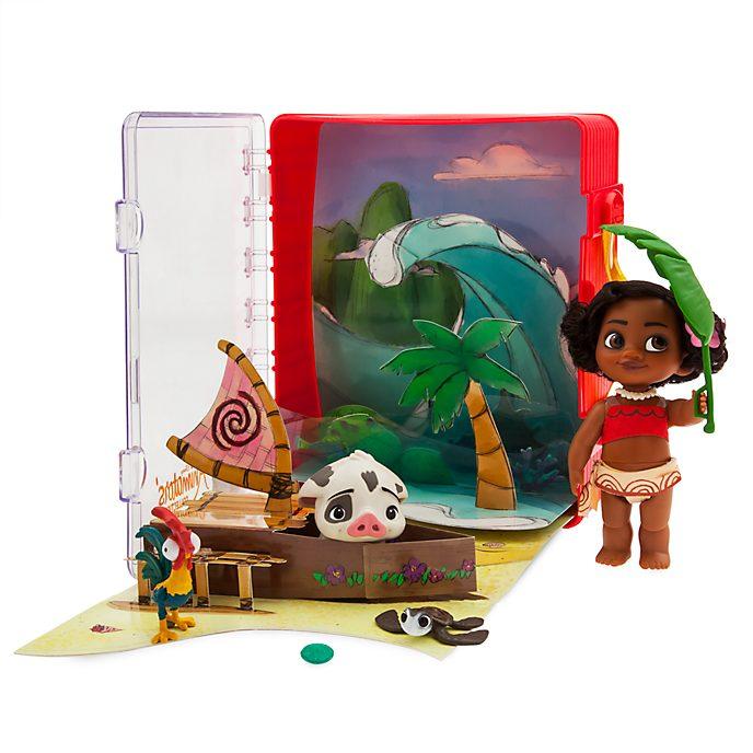 Disney Store Disney Animators' Collection Moana Playset