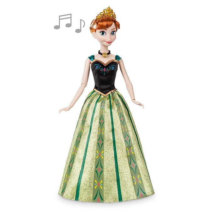 Disney Store Anna Singing Doll