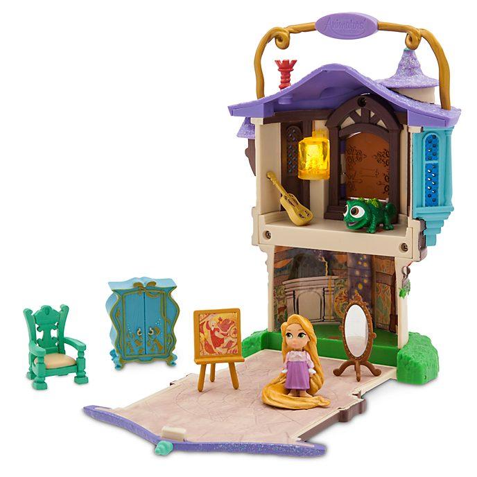 Disney Store - Disney Animators' Littles - Rapunzel - Neu verföhnt - Spielset