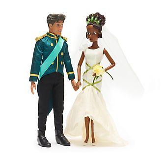 Set muñecas boda Tiana y Naveen Disney Store