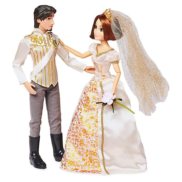 Disney Store Coffret de poupées Mariage de Raiponce et d'Eugène