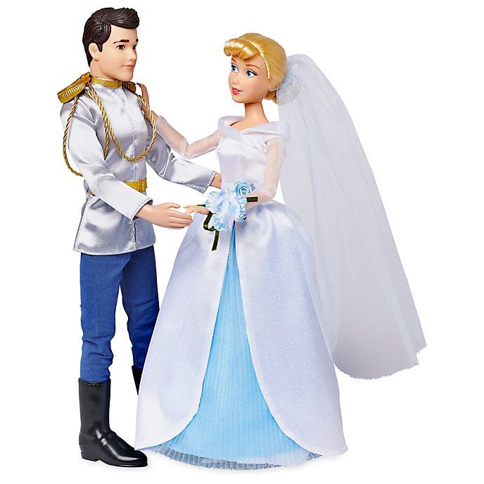 Disney Store Coffret de poupées Mariage de Cendrillon et du Prince Charmant