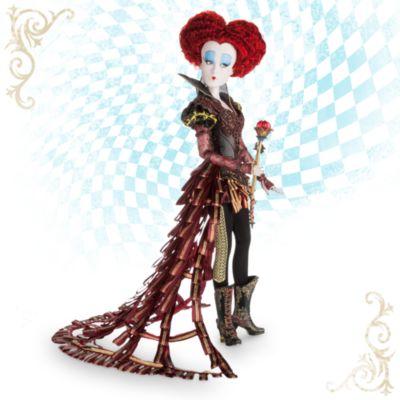 Alice im Wunderland - Hinter den Spiegeln - Die Rote Königin Puppe in limitierter Edition
