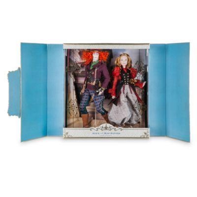 Set di bambole Deluxe in edizione limitata Alice e il Cappellaio Matto