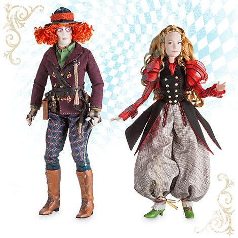 Alice and The Mad Hatter Deluxe Limited Edition Doll Set