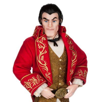 Poupée en édition limitée Gaston, La Belle et La Bête