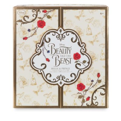 Muñecos edición limitada Bella y Príncipe, La Bella y la Bestia