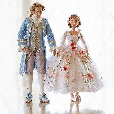 Die Schöne und das Biest - Belle und Prinz, Puppen in limitierter ...