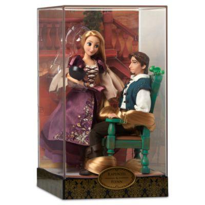 Disney Designer Collection Rapunzel- och Flynn-dockor