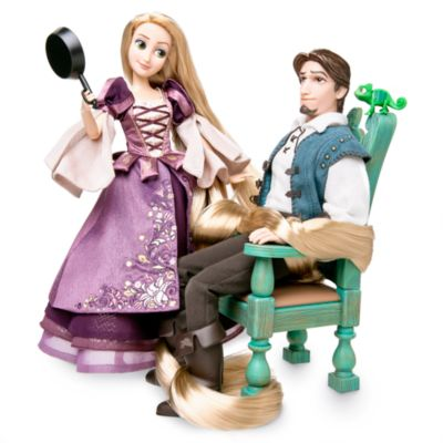 Disney Designer Collection Rapunzel and Flynn Dolls