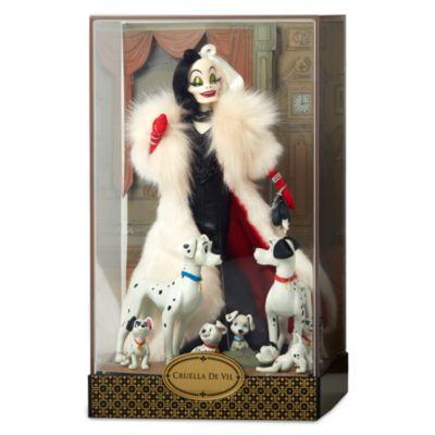 Bambola collezione Disney Designer Crudelia De Mon