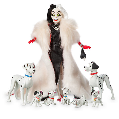 Disney Designer Collection Cruella de Vil dukke