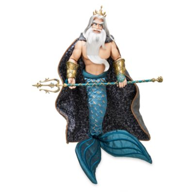 Disney Designer Collection Ariel and King Triton Dolls