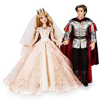 Set bambole in edizione limitata Bella Addormentata e Principe Filippo Disney Store